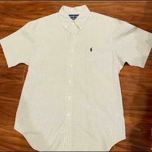 Polo By Ralph Lauren Short Sleeve Oxford